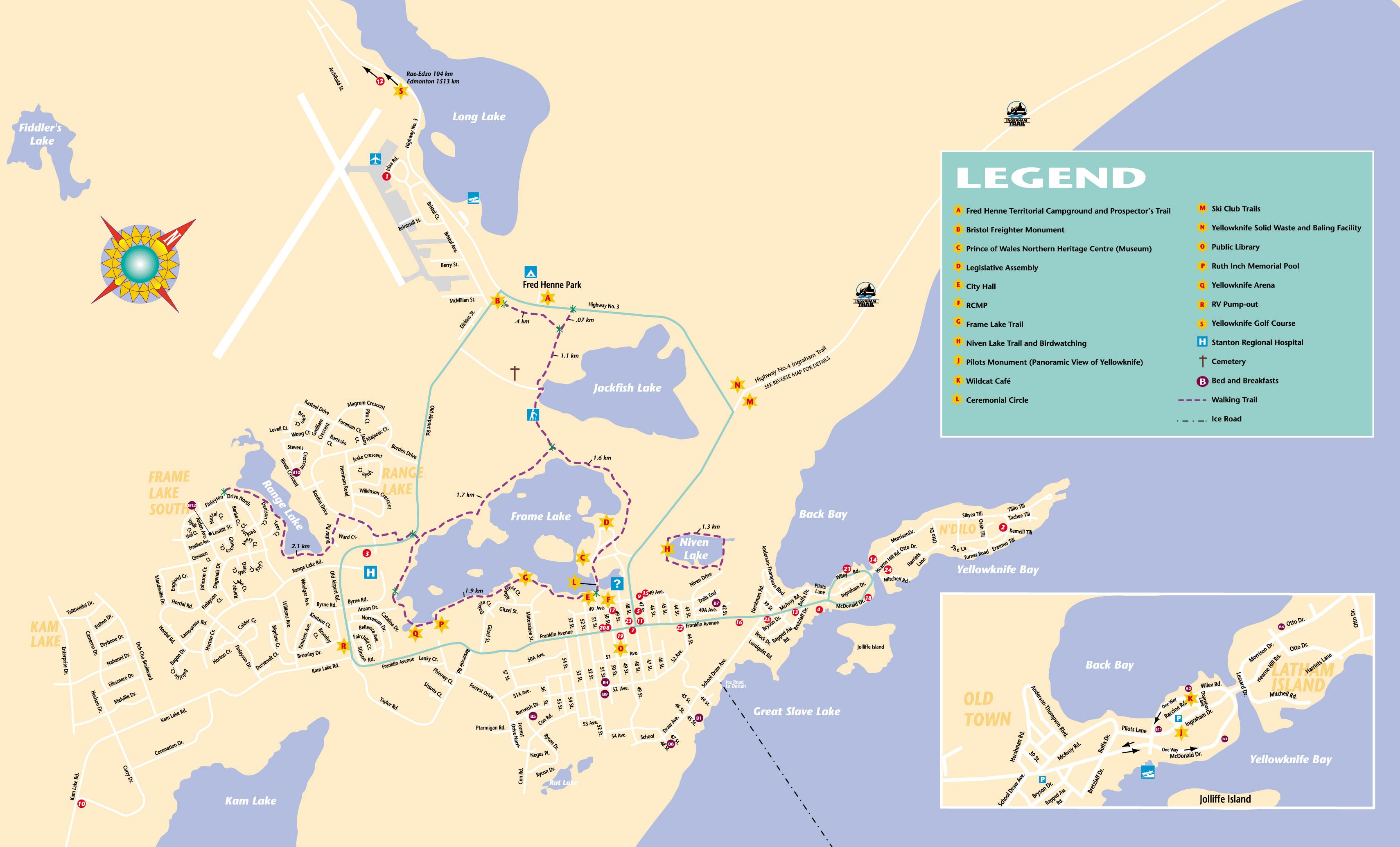 Map Of Canada Yellowknife.14th International Congress On Circumpolar Health Location